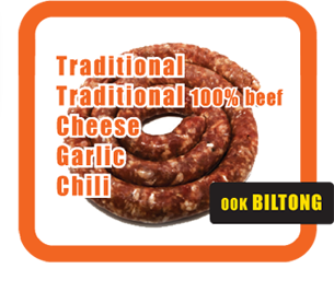 Traditional Cheese Chili Garlic  ook BILTONG